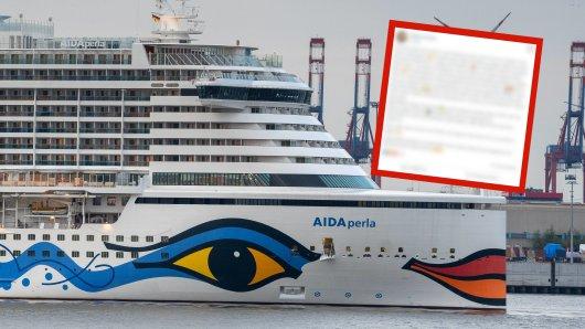 Kreuzfahrt: Eine Frau rührt AIDA-Fans zu Tränen.