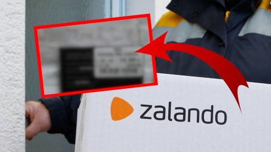 Ein Zalando-Kunde ärgerte sich über das originale Preisschild, das bei seiner Bestellung noch an dem Kleidungsstück hing. (Symbolfoto)