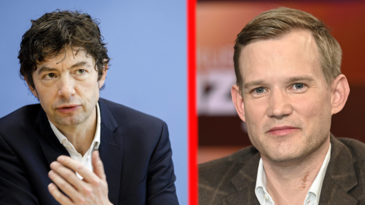 Corona: Die beiden Top-Virologen Christian Drosten und Hendrik Streeck.
