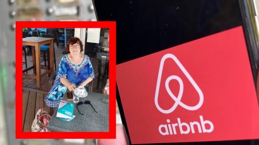 Airbnb-Kundin Renate Kimmel weiß nicht weiter. Sie verlässt die Unterkunft.