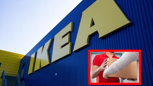 Eine Ikea-Kundin wartete sehnsüchtig auf ihr Paket. Beim Öffnen ist sie irritiert. (Symbolbild)