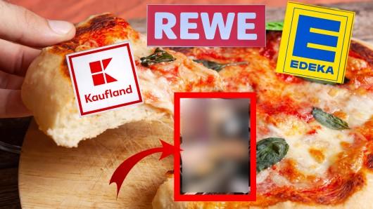 Edeka, Rewe und Kaufland führen bald eine neue Pizza, die ein deutscher Rapper herausgebraucht hat.