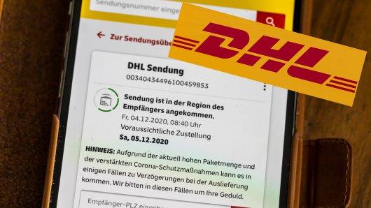 Wo ist mein DHL-Paket? Das fragen sich oft viele Kunden. DHL klärt auf. (Symbolbild)