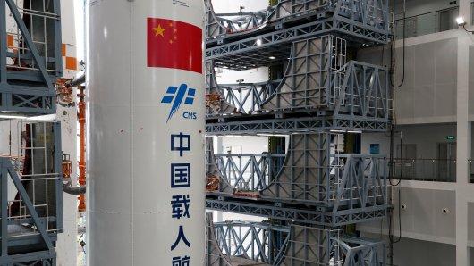 Die China-Rakete brachte ein wichtiges Teil zu einer Raumstation. (Symbolbild)