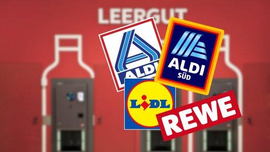 Bei Aldi, Lidl, Rewe und Co. bahnt sich eine große Änderung bei der Pfandpflicht an. (Symbolbild)