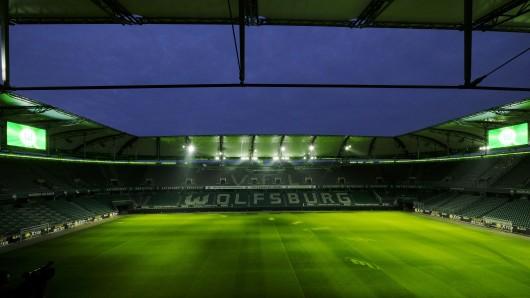 In der Volkswagen Arena wird im März die deutsche Nationalmannschaft auf den Rasen laufen. (Archivbild)