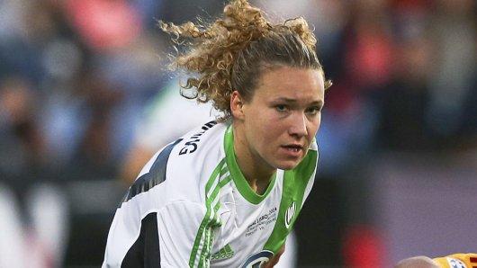 Josephine Henning trug zwischen 2011 und 2014b das VfL-Trikot.