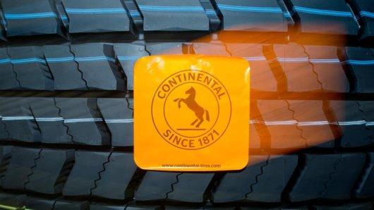 Ein Reifen der Continental AG.