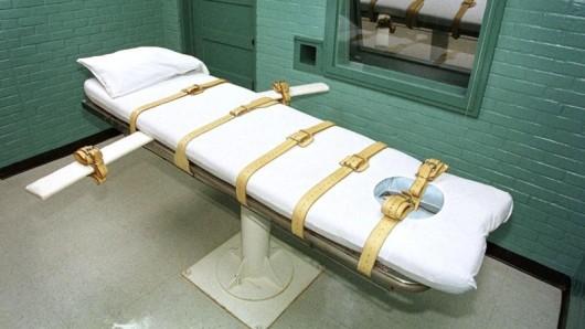 Ein Hinrichtungsraum in Texas.