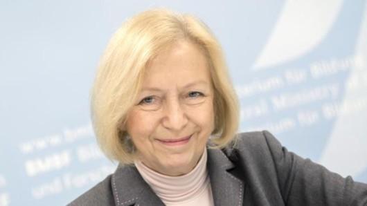 Bundesforschungsministerin Johanna Wanka (CDU).