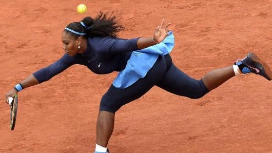 Twerking kann an die Substanz gehen - das musste Serena Williams schmerzhaft erfahren.