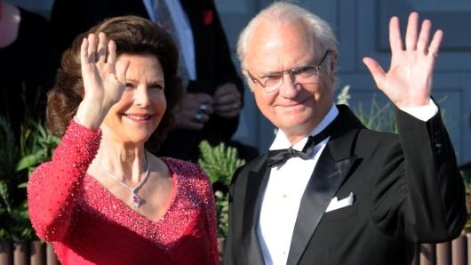 Schwedens König Carl XVI. Gustaf und seine FrauSilvia. (Symbolbild)