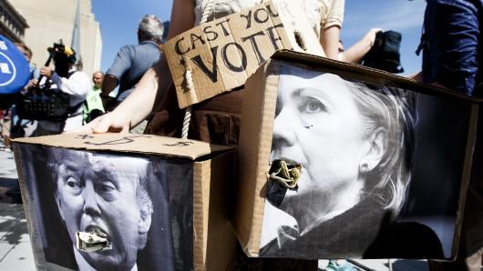 Der US-Wahlkampf 2016 war einer der teuersten der Geschichte.