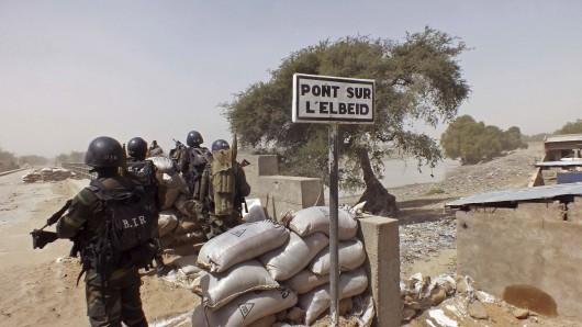 Das nigerianische Militär kämpft im Nordosten gegen die Terrorgruppe Boko Haram. (Archivbild)