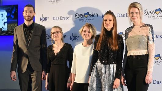 Von links nach rechts: Axel Maximilian Feige, Helene Nissen, Yosefin Buohler, Felicia Lu Kürbiß und Isabella Levina Lueen.