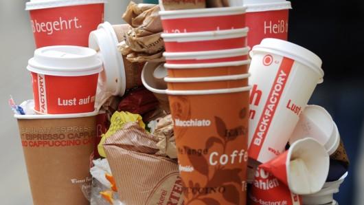 Den Einweg-Kaffeebecher soll der Kampf angesagt werden.