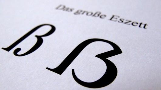 Das Eszett, das scharfe S, gibt es jetzt auch offiziell als Großbuchstaben.