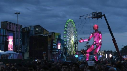 Das Gelände des Mad Cool Festivals in Spanien. (Archivbild)