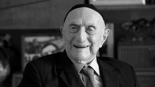 Israel Kristal hat Auschwitz überlebt. Jetzt ist er mit 113 Jahren gestorben.