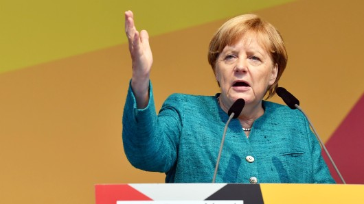 Kanzlerin Angela Merkel (CDU).