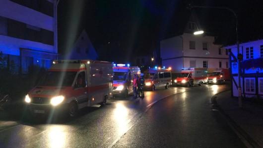 Die Feuerwehr war mit fünf Fahrzeugen und etwa 20 Kräften im Einsatz.