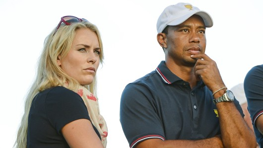 Lindsey Vonn und Tiger Woods. (Archivbild)