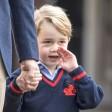 Der britische Prinz George, Sohn von Prinz William und Herzogin Kate, geht am 07.09.2017 in London (Großbritannien) zur Thomas's Battersea Schule. Für den vierjährigen kleinen Prinzen beginnt heute die Schule. Foto: Richard Pohle/The Times/PA Wire/dpa +++(c) dpa - Bildfunk+++