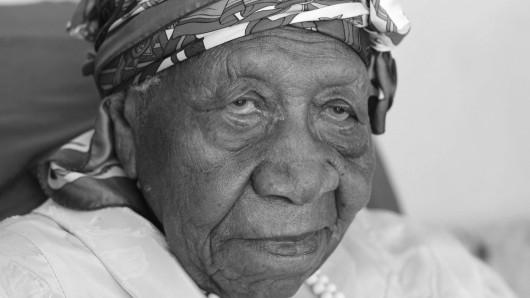 Violet Brown starb am Wochenende im Alter von 117 Jahren.
