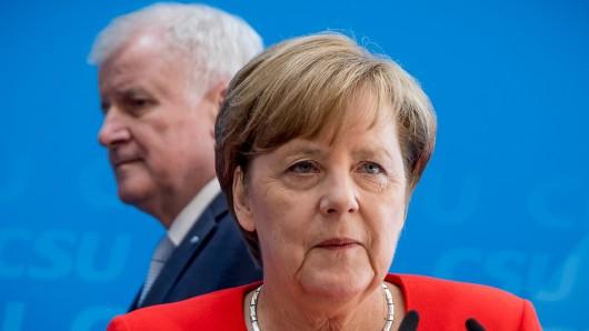 Bundeskanzlerin Angela Merkel (CDU) und CSU-Chef Horst Seehofer. (Archivbild)