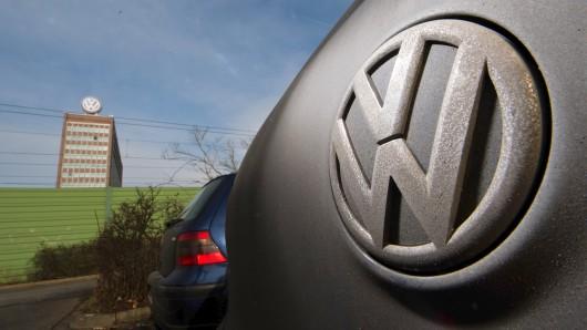 VW muss 1 Milliarde Euro Bußgeld zahlen. (Symbolbild)