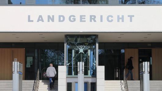 Das Landgericht in Magdeburg. (Archivbild)