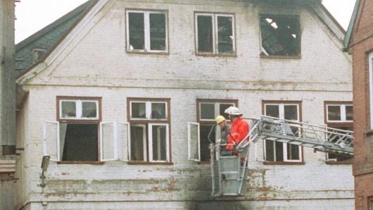 Mit dem Brandanschlag hatte die ausländerfeindliche Gewalt in Deutschland eine neue Qualität erreicht.