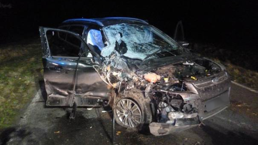 In diesem Auto starb ein 29 Jahre alter Mann.
