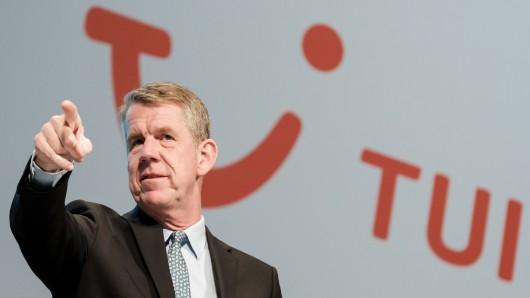 Nicht Peter Kloeppel, sondern der Vorstandsvorsitzende der TUI Group, Friedrich Joussen. (Archivbild)