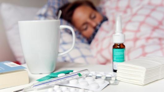 Immer mehr Menschen sterben in Niedersachsen an Grippe. (Symbolbild)