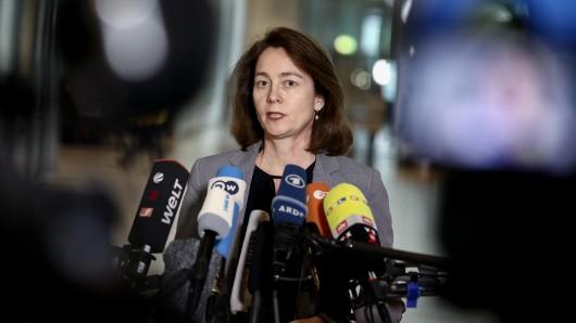 Bundesjustizministerin Katarina Barley (SPD). (Archivbild)