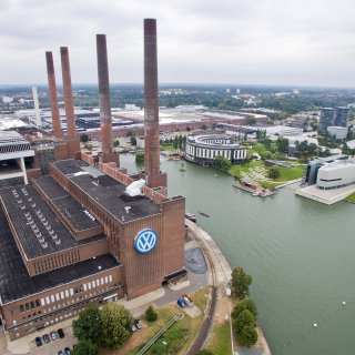 Das VW-Stammwerk in Wolfsburg (Archivbild).