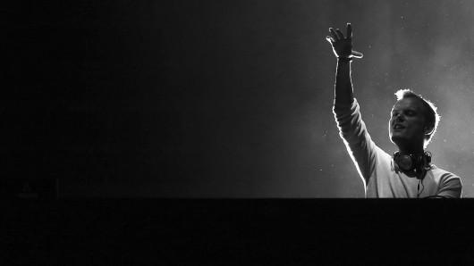DJ Avicii bei einem Auftritt Ende Mai 2016 in Lissabon.