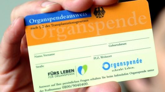 Die Zahl der Organspender steigt wieder (Symbolbild).