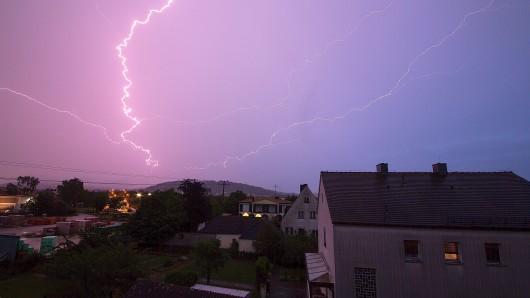 Das Gewitter hat am Wochenende für Stromausfall gesorgt. (Archivbild)