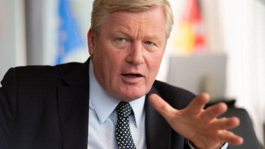 Sein Plan kostet Milliarden: Wirtschaftsminister Bernd Althusmann (CDU) möchte schnelles Internet (Archivbild).