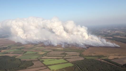 Die Landesregierung will über den Brand informieren (Archivbild).