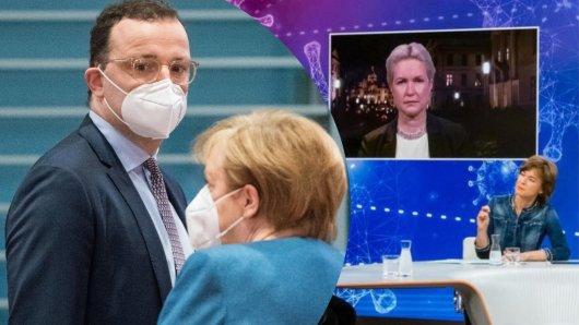 Manuela Schwesig mit einer Frontalattacke auf Jens Spahn, Angela Merkel und die EU bei Maybrit Illner im ZDF.