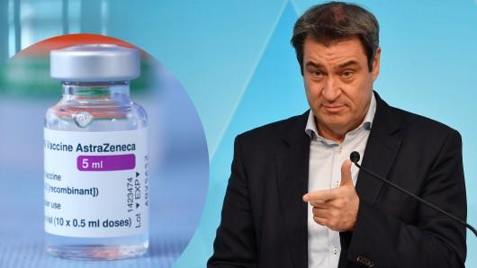 Markus Söder will die Impfreihenfolge bei AstraZeneca auflösen.