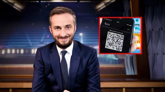 Jan Böhermann: Der Satiriker und Entertainer lässt die Luca-App schlecht dastehen. (Symbolbild)