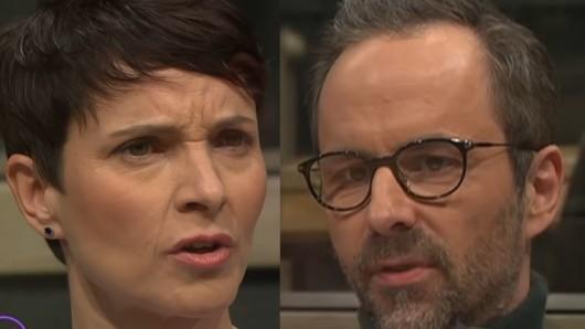 Ex-AfD-Chefin Frauke Petry duellierte sich mit Kurt Krömer.