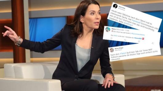 Anne Will steht in der Kritik.