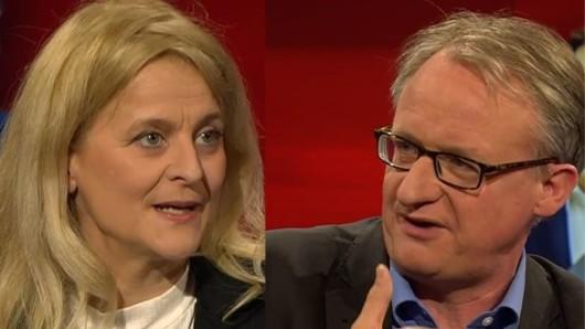 Rechneten mit Söder, Laschet und der Union ab: Journalistin Kristina Dunz und Politikwissenschaftler Albrecht von Lucke.