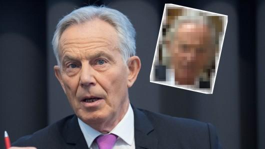Tony Blair so wie man ihn bisher kannte.