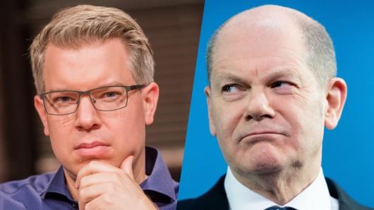 Frank Thelen kann nicht fassen, was Olaf Scholz mit seinem privaten Vermögen anstellt.